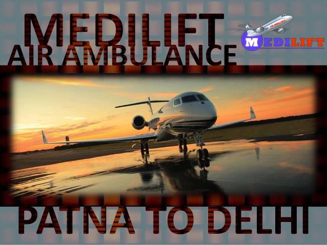 air ambualnce patna to delhi