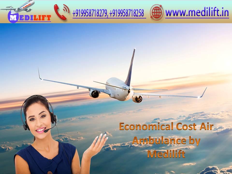 Medilift Air Ambulance in Guwahati